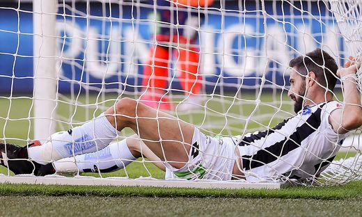 Der SK Sturm unterlag Hartberg zum Saison-Finish klar
