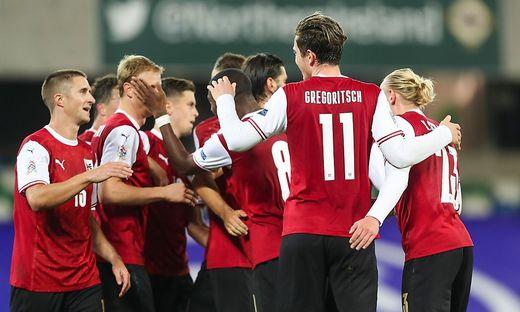 Michael Gregoritsch sorgte für Österreichs Auswärtssieg in Nordirland