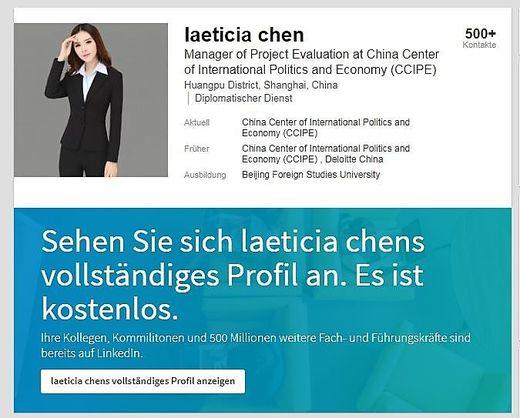 "Image result for Laeticia Chen International Politics and Economy"""