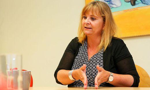 Claudia Klimt-Weithaler ist Klubobfrau der KPÖ