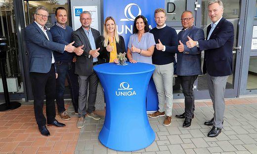 """Team der """"UNIQA"""" GeneralAgentur Feldkirchen"""