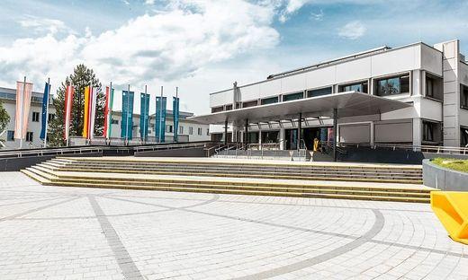 Ein leerer Campus: Am Mittwoch wird die Alpen-Adria-Universität in Klagenfurt geschlossen