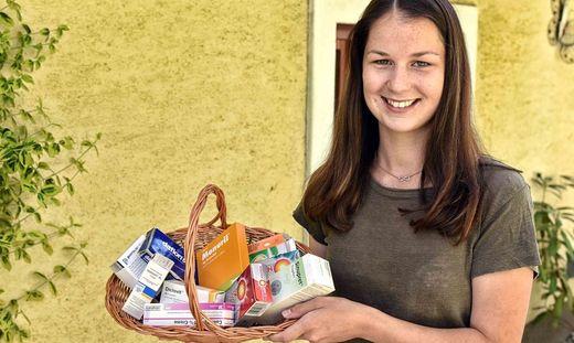 Laura Ratheiser ist bei der Landjugend aktiv und zur Stelle, wenn jemand Unterstützung braucht