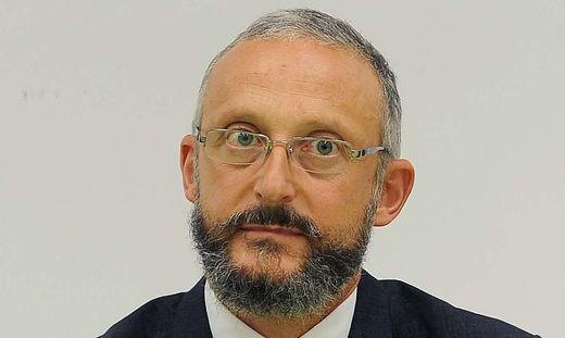 Omar Monastier, Chefredakteur des Messaggero Veneto und Il Piccolo