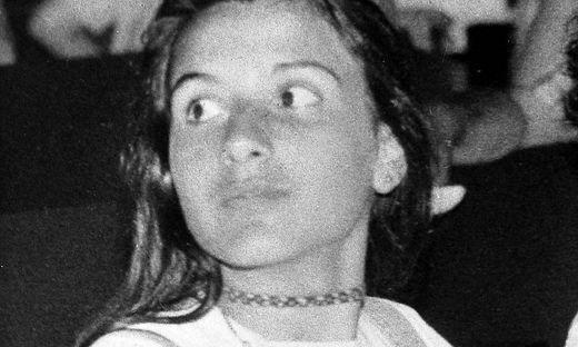 Das Mädchen auf einem Foto aus den frühen 1980er-Jahren