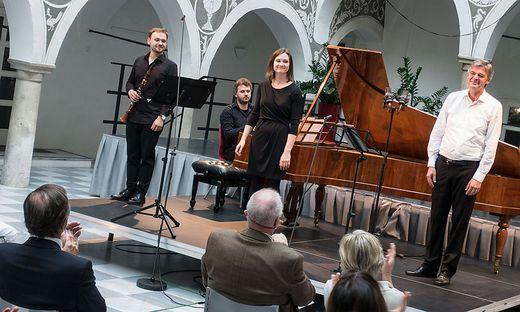 Abschlusskonzert der nachgeholten Trigonale im Rathaus St. Veit
