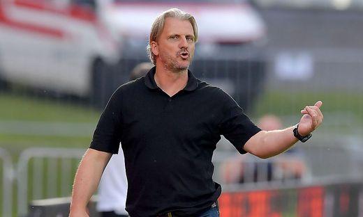Markus Schopp war verärgert