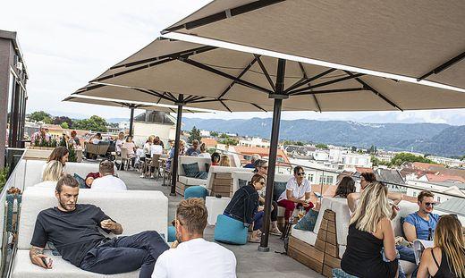 Skybar Moser Verdino Klagenfurt Juli 2020