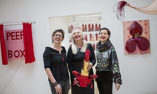 Blutrot - Ausstellung Künstlerhaus Klagenfurt März 2017