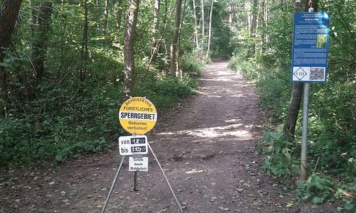 Eustacchio-Gründe Waldsperre