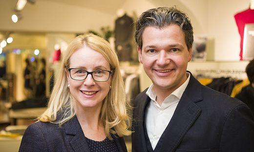 Margarete Schramböck, Peter Weidinger