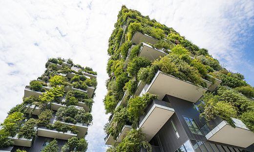 """""""Bosco Verticala"""", der vertikale Garten in Mailand"""