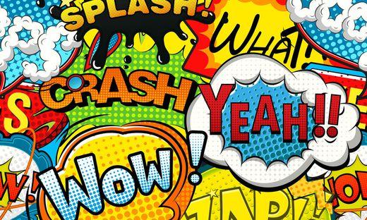Über Splash, Crash und Yeah ist man in der Comic-Kultur schon längst hinaus