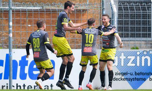 SOCCER - 2.Liga, Steyr vs Lafnitz