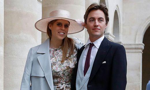 Prinzessin Beatrice mit ihrem Ehemann Edoardo