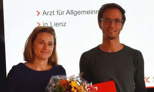 Matthias Trummer und Sabrina Theurl-Prodinger