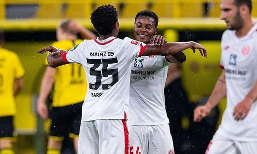 Mainz überraschte bei 2:0 in Dortmund