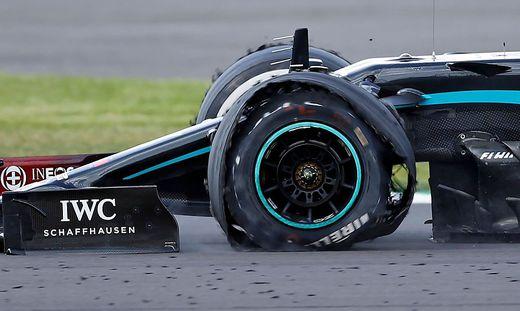 Lewis Hamilton, Reifen