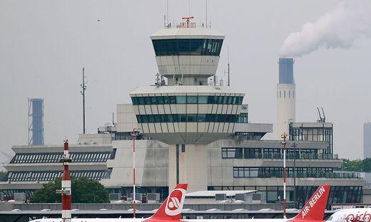 Flüge ab Berlin-Tegel sind am unpünktlichsten