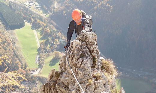 Franz Josef Klettersteig : Kaiser franz josef klettersteig und roßloch höhlen