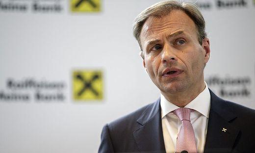Peter Gauper, Vorstandssprecher Raiffeisen Landesbank Kärnten