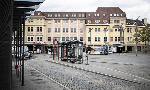 Auch am Heiligengeistplatz in Klagenfurt soll es zu einer Attacke gekommen sein
