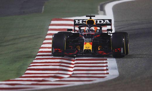 Formula 1 2021: Bahrain March testing BAHRAIN INTERNATIONAL CIRCUIT, BAHRAIN - MARCH 12: Max Verstappen, Red Bull Racing