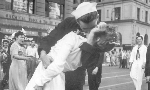 Ausschnitt des legendären Fotos von 1945