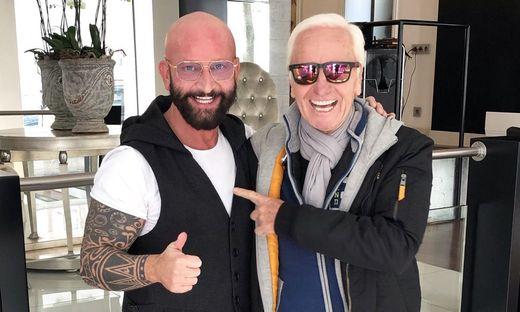 Klaus Eberhartinger bei Dieter Ferschinger
