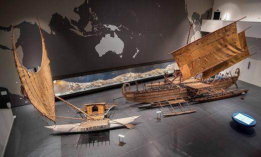 Das umstrittene Auslegerboot von der Südseeinsel Luf