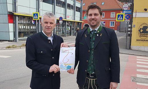 Was nun? Andreas Handlos (l.) und Markus Lindner gehen von nun an jedenfalls getrennte Wege