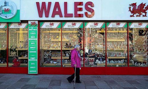 Zweiwöchiger Lockdown im britischen Landesteil Wales
