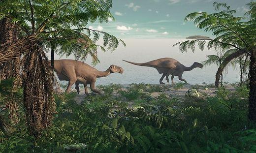 Giganten der Urzeit auf der spektakulären 3D-Leinwand