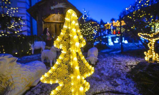 Hochwertige Weihnachtsbeleuchtung.Weihnachtsbeleuchtung Las Vegas Am Klagenfurter Stadtrand