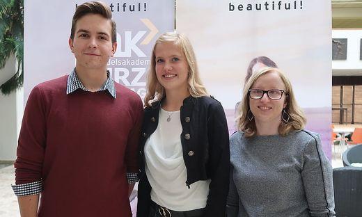 Yaroslav Dogotar, Antonia-Carolyn Paar und Sandra Kaiser