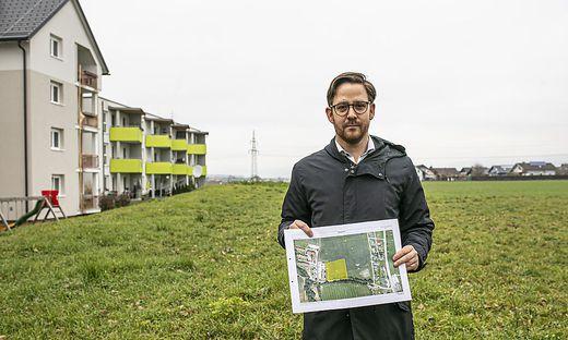 Areal neues Pflegeheim St. Andrae Dezember 2019