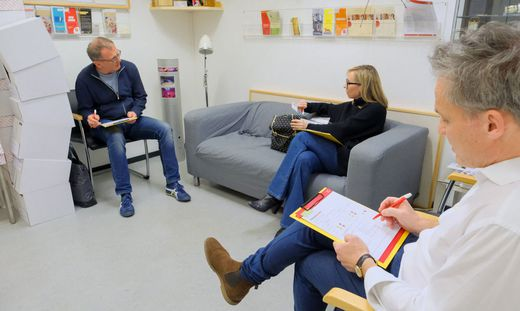 Isolationsbereiche im ORF-Zentrum