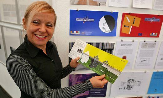 Eva Fürstner, Leiterin des Museums der Wahrnehmung in Graz