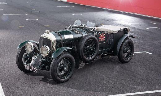 """Ettore Bugatti nannte den """"Blower"""" den schnellsten Lkw der Welt"""