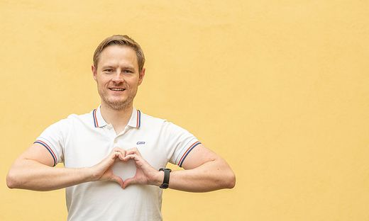 Er war Sportler, bis das Herz verrückt spielte: Bernd Trabi.