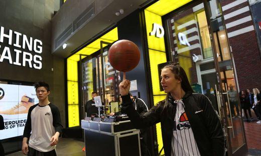 Jüngst eröffnete JD einen neuen Shop in Amsterdam