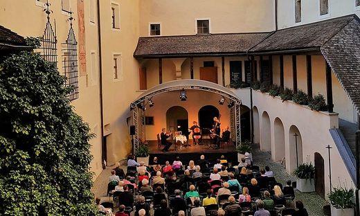 Konzertsommer auf Schloss Bruck in Lienz
