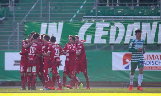SOCCER - 2. Liga, Rapid II vs GAK