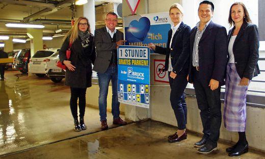 Susanne Fresner, Peter Koch, Susanne Kaltenegger, Thomas Pekastnig und Ulrike Anderwald (von links)