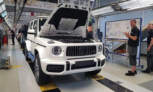 Der Mercedes G wird seit über 40 Jahren in Graz gefertigt