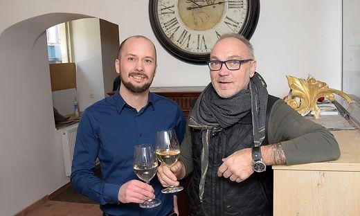 Bauten den Mohrenwirt um und müssen ihn jetzt schließen: Peter Kotynkowiecz und Matthias Kramer