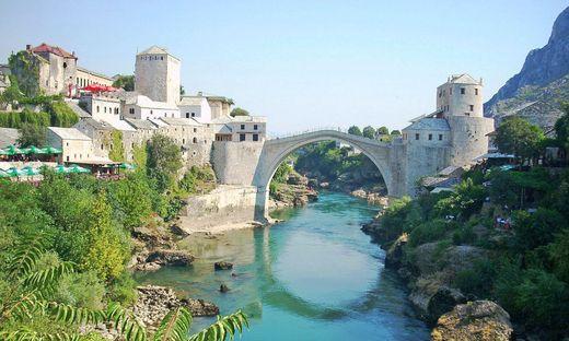 Eine Besichtigung von Mostar mit der berühmten Brücke Stari Most steht auch auf dem Programm