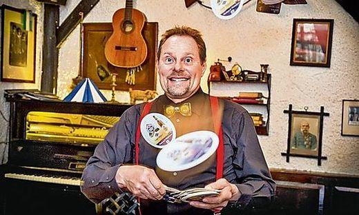 Biervielfalt ist für ihn Trumpf: Leo Schuster, gastronomischer Einzelkämpfer in der Villacher Altstadt