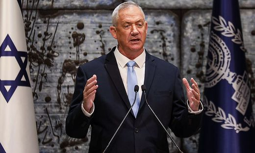 Israels Oppositionspolitiker Benny Gantz