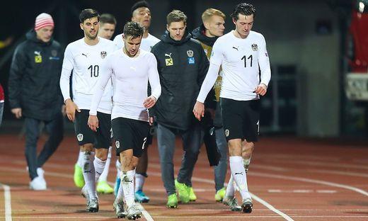 Das ÖFB-Team verlor in Riga